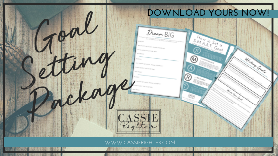 Goal Setting Package Graphic for Opt In