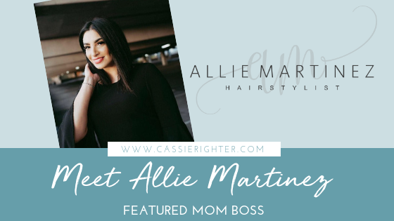 Allie Martinez Featured Mom Boss Blog Cover