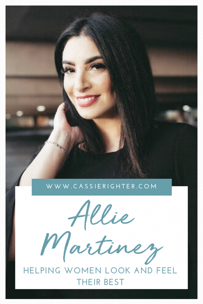 Allie Martinez Mom Boss Pin Description
