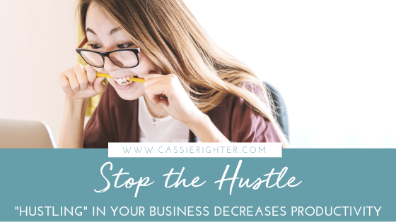 Stop the Hustle How Hustling Steals your Joy
