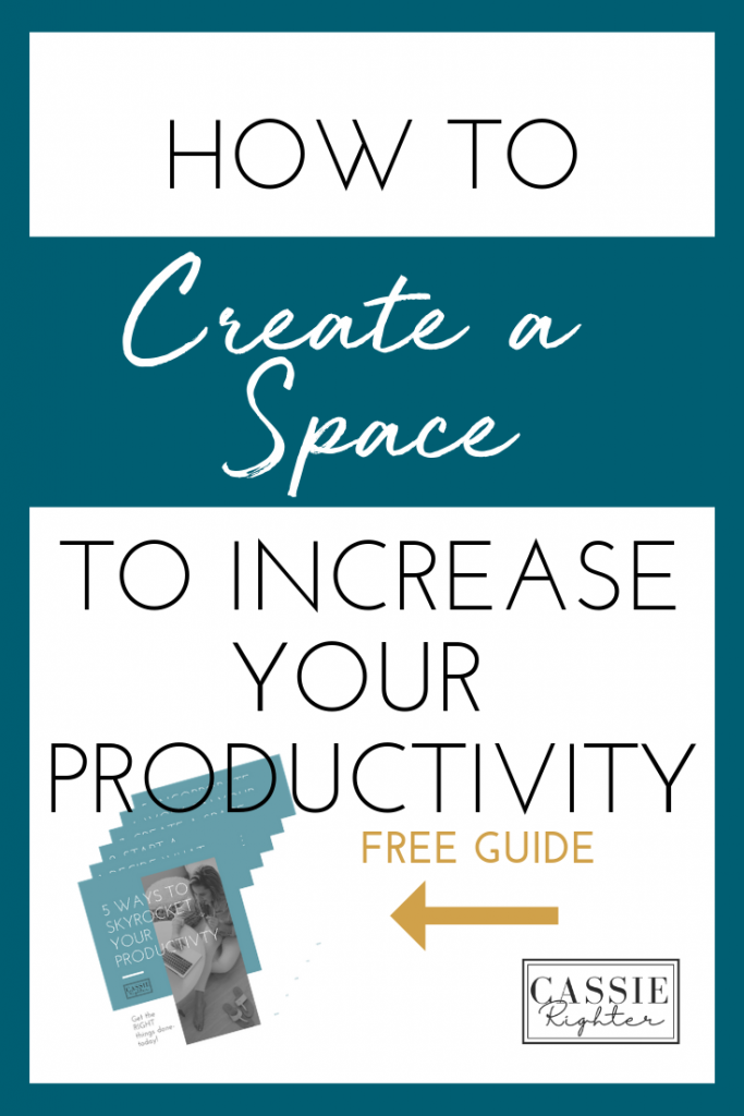 Image How to Create a Space to Increase Your Productivity Click here to download your free guide.