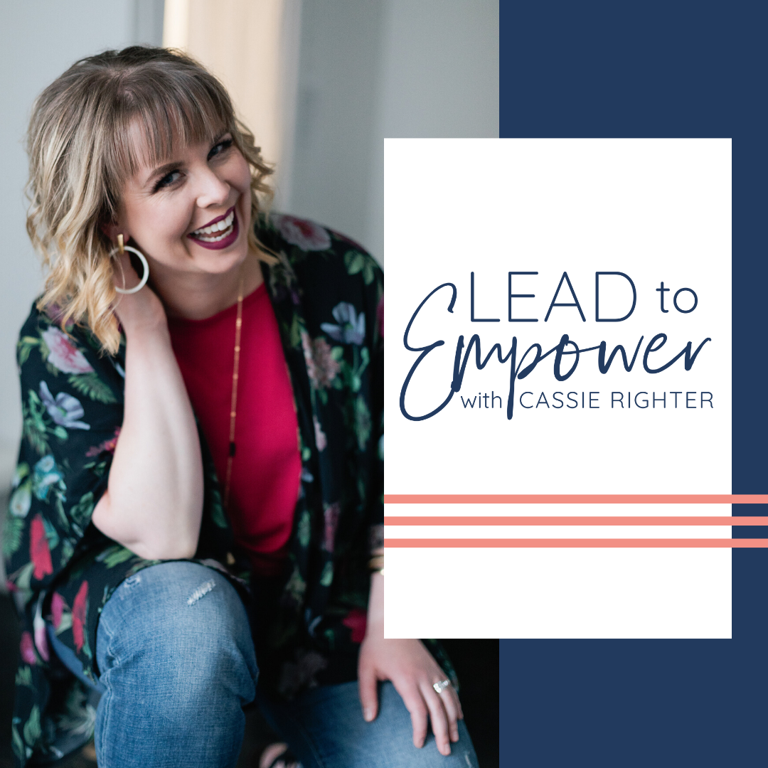 LEAD TO EMPOWER PODCAST COVER